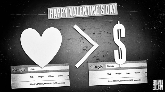 Benjamin Ebel Happy Valentines Day Infographic